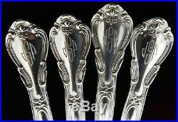 (10) Gorham Chantilly Sterling Ice Cream Forks c. 1895 Old Marks J1161