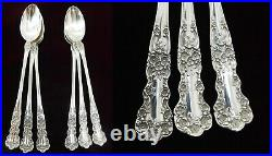 (6) Gorham Buttercup Sterling Silver Iced Tea Spoons Old Marks J1661