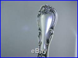 8 Sterling GORHAM Iced Tea Spoons CHANTILLY 1895 old mark no mono