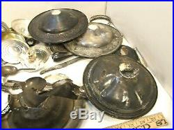 891 Grams Scrap Marked Or Tested Sterling Silver Over 2 Lbs