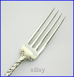 #9279-81 OLD Mark Reed & Barton 1899 Love Disarmed Rare 7 1/8 Fork Mono = DBS
