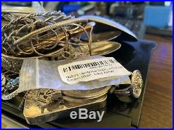 999/925 Silver for scrap/fix 1.28 lbs of Silver/Sterling all are marked/tested
