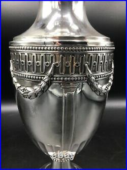 A Beautiful French sterling Silver Vase, mark of Charles Forgelot, circa 1910