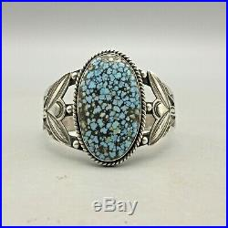 A Great Older #8 Turquoise Bracelet and Ring Set Marked UITA 22