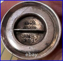 Acorn by Georg Jensen Sterling Silver Pepper Shaker #423 1 3/8 GI mark
