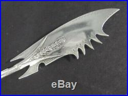 Antique Gorham LAG Mark Aesthetic Sterling Silver Figural Mouse Cheese KNIFE