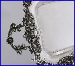 Antique Gorham Sterling Silver Tray Date Mark 1887