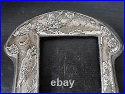 Art Nouveaux Picture Frame, Sterling Silver, Marked, Birmingham 1909, Beautiful