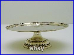 Austro / Hungarian Solid Silver Tazza Tray Marked 1835 13 Loth Budapest Armorial