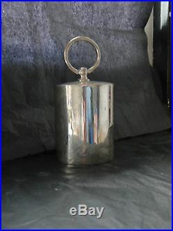 Cigarettes Dispenser Sterling Silver London 1927 Art Deco Stylish Marked Vintage