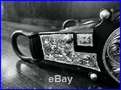 Classic Sterling Silver Filigree Santa Barbara Show Bit High Port Mp Maker Mark