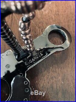 Classic Sterling Silver Overlay Santa Barbara Garcia Spade Show Bit Maker Marked