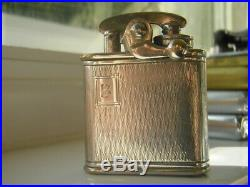 Colibri kickstart lighter, marked Sterling silver