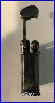 ESTATE LIFT ARM MEXICO STERLING SILVER LIGHTER APPROX 1.5 x 1.5 INCHES Marked