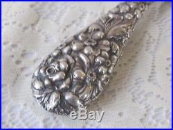 Estate Stieff Sterling Silver Rare 1928 Mark Dresser Hand Mirror Repousse Rose
