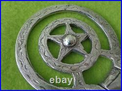 GORGEOUS Marked Mexico ELKO STAR Vintage STERLING Silver 4-3/4 Show Snaffle BIT