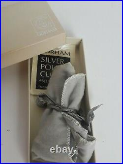 Gorham Chantilly Sterling Silver Baby Fork and Spoon Set New Marks GIFT QUALITY