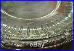 Gorham Marie Antoinette Sterling Center Bowl 1929 Zeppelin date mark 354.6 grams