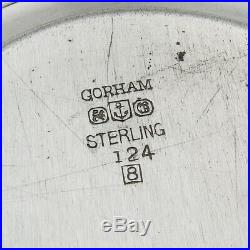 Gorham Oval Dresser Tray Sterling Silver 1948 Date Mark