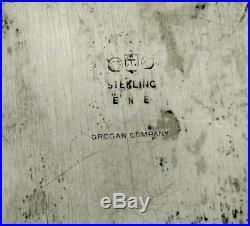 Gorham Sterling Tea Set Tray 1916 Special Order Mark