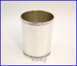 JFK Mark J Scearce Kentucky Sterling Silver Presidential Kennedy Mint Julep Cup