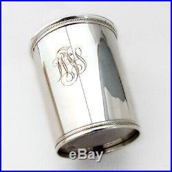 Julep Cup Sterling Silver Mark J Scearce DDE 1953 Kentucky