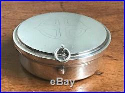 Modern Sterling Silver Pyx Box / Wafer Box London 2008 Mark William Munson