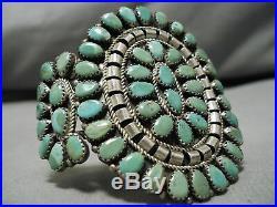 Museum Vintage Navajo Mark Begay Royston Turquoise Sterling Silver Bracelet