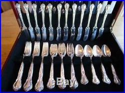 Old Mark Gorham Chantillysterling Silverflatwaresets-12+servers82pexcl