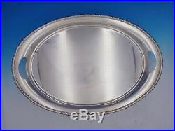 Prelude By International Sterling Silver Tea Tray Marked #124 80 (#4157)