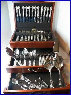Reed & Barton Francis 1st Sterling Silver Set New Mark Dinner/lunch 147 Pc