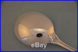 Reed & Barton Francis I Sterling Silver 7 Gumbo Spoons Old Mark No Monogram