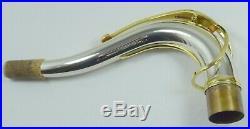 Selmer Sterling Silver Tenor Sax Neck for Mark VI, SA 80, Series II/III etc
