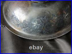 Small Sterling Silver Sweet Bowl Sheffield 1857 Henry Wilkinson, Antique Marked