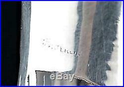 Sterling Silver Overlay Bottle With Stopper Makers Mark L Monogram