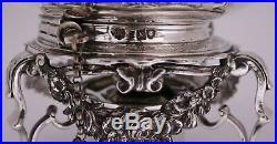 Sterling Silver Tea Kettle by Lambert & Co. London 1902 date mark