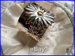 TIFFANY Bracelet DAISY. 925 Sterling Silver Cuff Tiffany & Co 2003