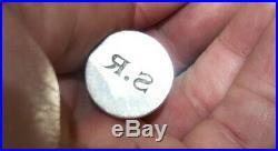 Very Rare Georg Jensen Sterling Silver Owl Wax Seal Early GI Mark Denmark Danish