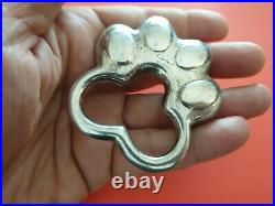Vintage CARTIER Sterling Silver 925 Baby Rattler Animal Paw. Marked 29 PD