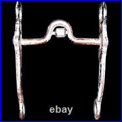 Vintage DT Maker Marked Sterling Silver Arabian Nevada Shank Californio Bit