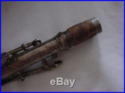 Vintage King Silver King Clarinet Sterling Silver Marked Bell 1925/30