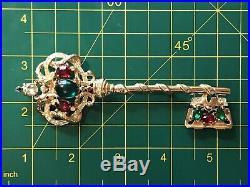 Vintage Sterling Adolph Katz Coro Craft Royal Coronation Snake Key-Pegasus Mark