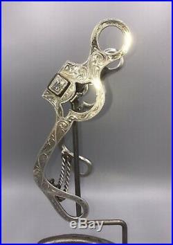 Vintage Sterling Silver Bit Hooded Copper Roller. Star Marked Norm Vogt