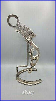Vintage Sterling Silver Bit Marked Vogt