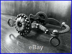 Vintage Sterling Silver Custom Overlay Cactus Flower Show Bit Salinas Mp Marked