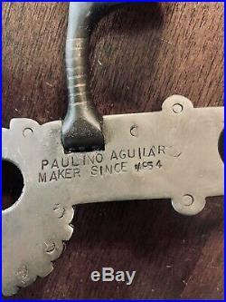 Vintage Sterling Silver Inlay Santa Barbara Monalisa Mp Show Bit Maker Marked