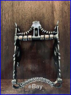 Vintage Sterling Silver Overlay Santa Barbara Cheek Acorn Show Bit Maker Marked