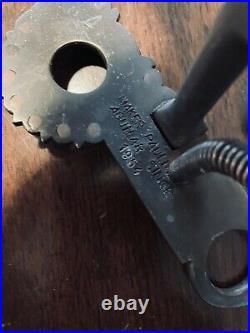 Vintage Sterling Silver Overlay Santa Barbara Spade Gutierrez Style Maker Marked