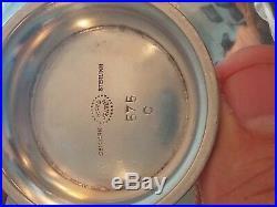 Vtg Rare Georg Jensen Sterling Silver Denmark 575 C Bowl Old Mark Holloware