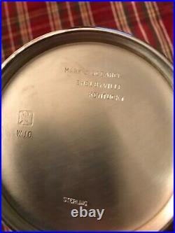 WJC Mark J Scearce Kentucky Sterling Silver Presidential Clinton Mint Julep Cup